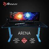 Arozzi Arena Gaming Desk - Blue