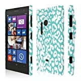 EMPIRE Signature Series One Piece Slim-Fit Case Tasche Hülle for Nokia Lumia 1020 - Mint Leopard
