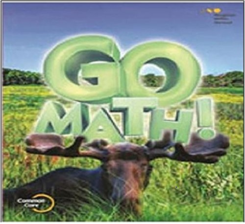 Go Math Student Edition Set Grade 3 2015