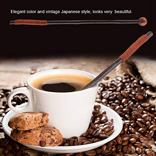 Rodipu Agitador de café, Varilla para agitar café Ligera, Apto para lavavajillas, para agitadores de Bebidas, Accesorios para Bebidas