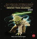 Star Wars Meister Yoda - Postkartenkalender 2020 -