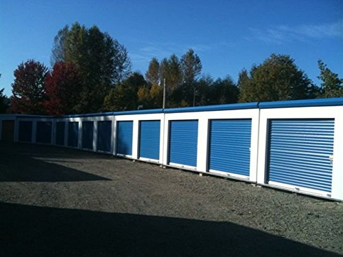 Lowest Price! DuroDOORS Janus 9'x7' Self Storage 750 Series Wind Rated Steel Roll-Up Door
