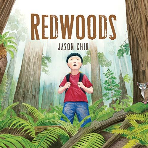 Redwoods audiobook cover art