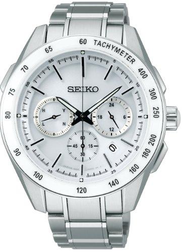[セイコーウォッチ] 腕時計 ブライツ ソーラー電波修正 サファイアガラス スーパークリア コーティング SAGA169 シルバー