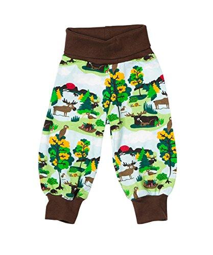 JNY Colourful Kids - Pantalon - Bébé (garçon) 0 à 24 mois Vert vert Small - Vert - 3 mois