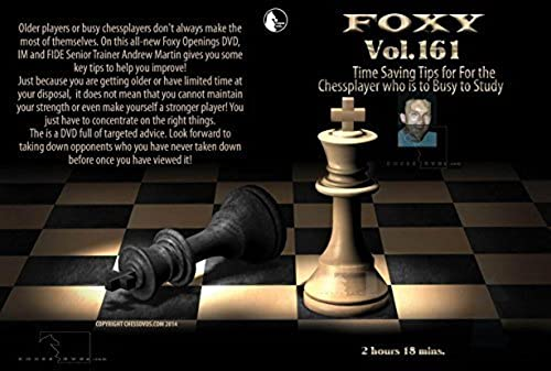 compras en linea Time Saving Tips for the Chess Player Who is is is Too Busy to Study - IM Andrew Martin - Foxy 161 by Foxy  comprar mejor