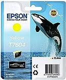 Epson T760440 - Cartucho, color amarillo, Ya disponible en Amazon Dash Replenishment