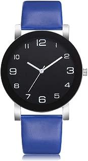 New Famous Women Simple Fashion Leather Band Analog Quartz Round Wrist Watch Watches Relogio Feminino Clock