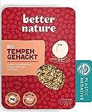 Better Nature Alternativa vegana para la carne picada hecha de tempeh de soja - 8x paquetes de 170g de deliciosas alternativas vegetales a la carne molida llenas de muchas proteínas y fibra