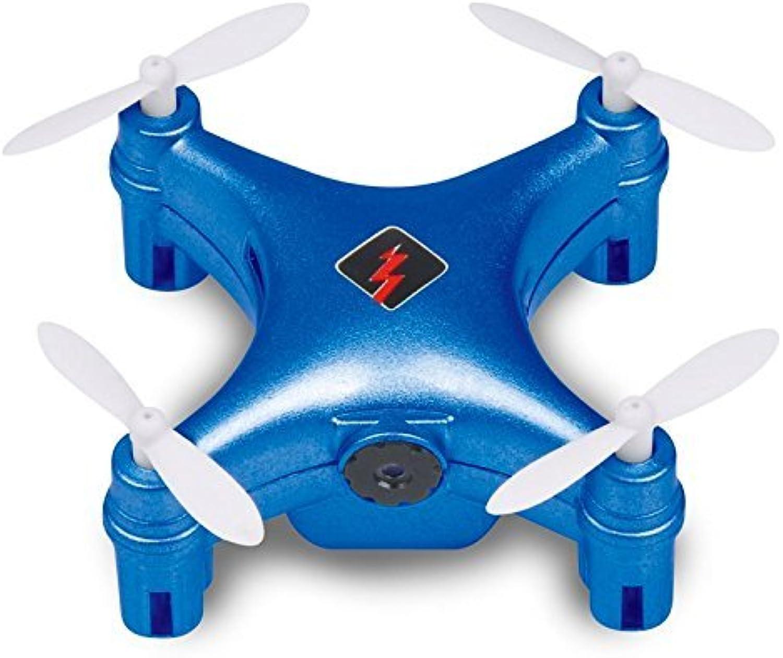 genuina alta calidad Qsmily WJuguetes Q343 FPV Mini Drone Drone Drone 2.4G RC Quadcopter with WIFI HD Camera Automatic Air Pressure High Headless Mode (azul)  Obtén lo ultimo