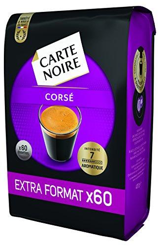 Carte Noire, Café en dosette Expresso Corsé N°7- 300 dosettes, Lot de 5