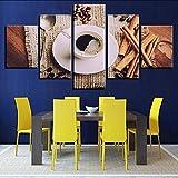 guyuell Art HD Prints Decor Wohnzimmer Wand 5 Stück