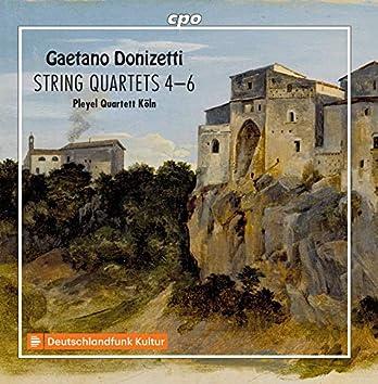 Donizetti: String Quartets Nos. 4-6