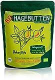 Bio Hagebuttenpulver 1kg Premium selektierte Hagebutten, Natürliche Vit. A, E, C und Ca, Mg - Hochdosiert und Laborgepüft, 100% reines Superfood - vegan, glutenfrei, extra fein - BotaniKils