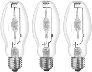 (3 Pack) MH100/U/MED 100W Metal Halide Bulb ED17 Medium Base Clear