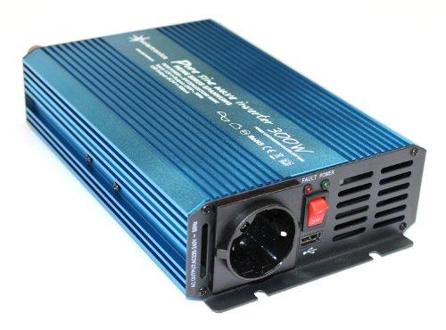 Spannungswandler Inverter 12V 300/600 Watt reiner SINUS