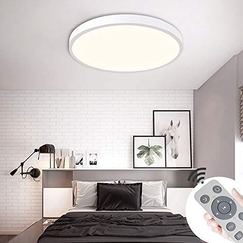 COOSNUG 36W LED Deckenleuchte Dimmbar Weiß Rund Deckenlampe Wohnzimmer Küche Panel Lampe Deckenbeleuchtung [Energieklasse A++]