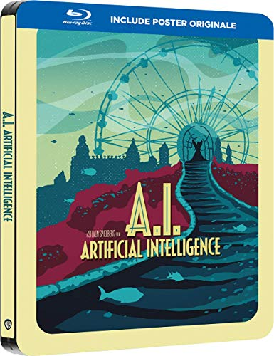 A.I. Intelligenza artificiale (2001) Steelbook Poster Edition ( Blu Ray)
