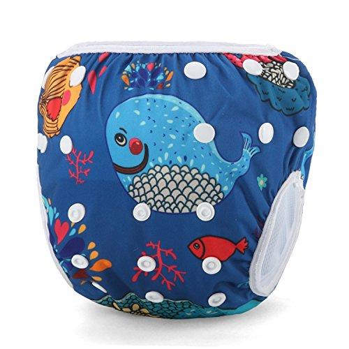 Storeofbaby Couches de bain bébé pour nouveau-né pantalon de piscine lavable pour tout-petits 0-3 ans