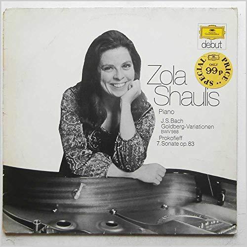 Zola Shaulis - Johann Sebastian Bach / Sergei Prokofiev - Goldberg-Variationen, BWV...