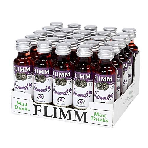 FLIMM Flümmli 20ml Miniflaschen im 25er Tray