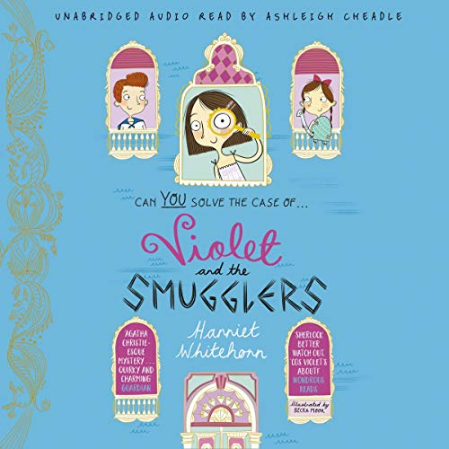 Violet and the Smugglers audiobook cover art