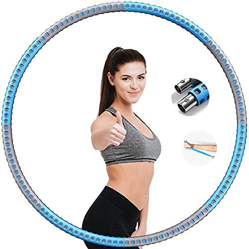Casdl Hula Hoop Reifen Hula Hoop Reifen Erwachsene,6 Segmente 37.5 Zoll 1bis 3.2kg Geeignet Für Erwachsene oder Kinder