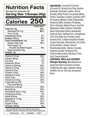 Product Image 4: KetoLogic Keto Meal Replacement Shake with MCT, Strawberry | Low Carb, High Fat Keto Shake | Promotes Weight Loss & Suppresses Appetite | 20 Servings