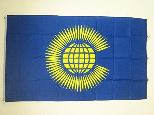 AZ FLAG Flagge Commonwealth of Nations ALT 150x90cm - Commonwealth Fahne 90 x 150 cm - flaggen Top Qualität