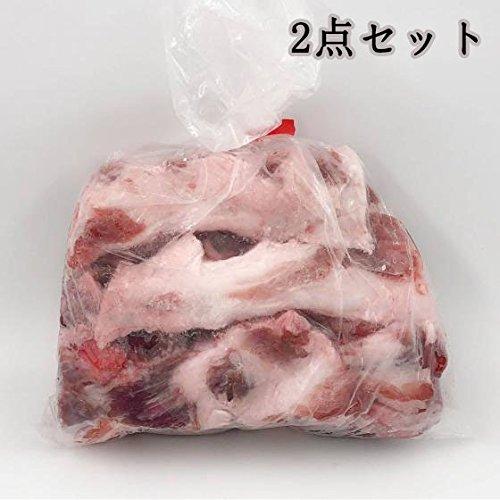 豚軟骨【2点セット】 生 なんこつ 国産 とろとろ煮 冷凍食品