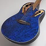 Ovation Celebrity Elite Plus CE44P-8TQ Transparent Blue Quilt Maple