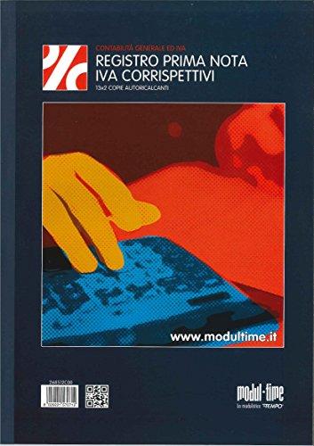 REGISTRO CORRISPETTIVI IVA 268512C00 - 13X2 COPIE AUTORICALCANTI (13 MESI)