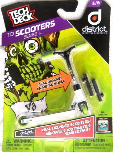 Tech Deck Scooters Series 1 District Freestyle Scooter Co 3/6 by Spin Master