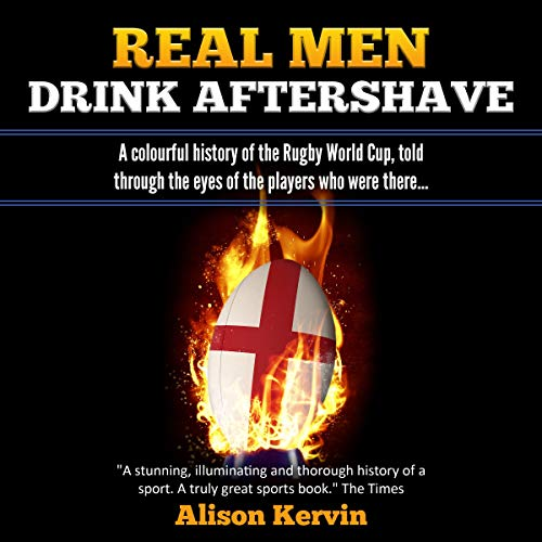Real Men Drink Aftershave audiobook cover art