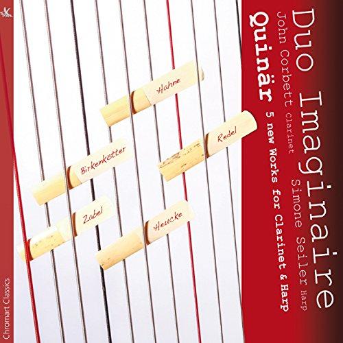 Quinär Fünf neue Werke für Klarinette und Harfe