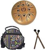 Inossidabile della linguetta del tamburo Drum della lingua d'acciaio della lingua dell'acciaio, tamburo senza preoccupazioni, 5,5 pollici 8-tono, filosofia millenaria cinese, religione, cultura, arte,