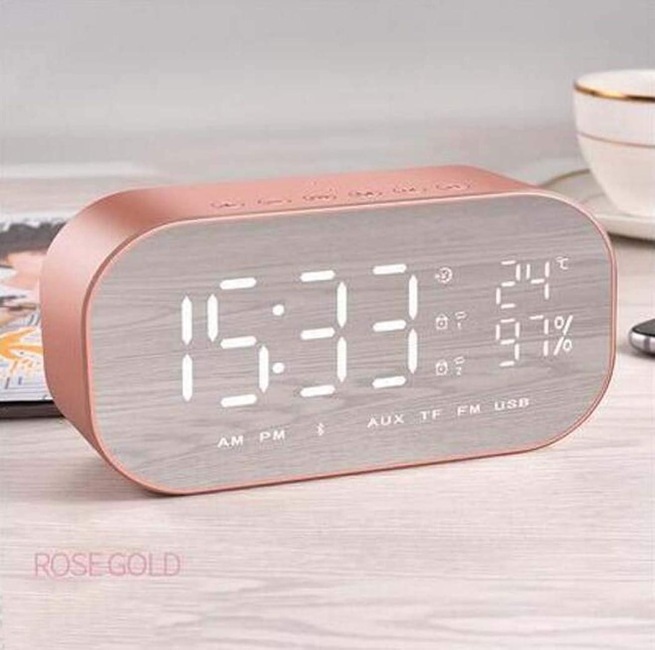目覚まし時計スピーカーオーディオワイヤレス Bluetooth サブウーファーミニ