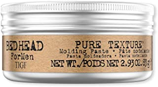 BED HEAD FOR MEN Pure Texture Hair Moulding Paste For Medium Hold and Natural Finish 83g