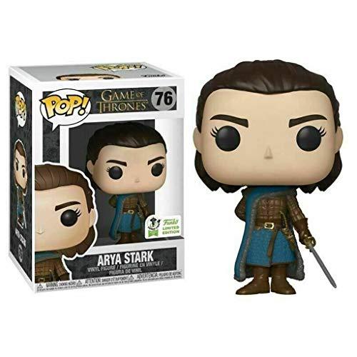 CQ Juego de Tronos Pop Figura: Arya Stark en Caja Adornos de colección de Vinilo Figura 10 CM Toys