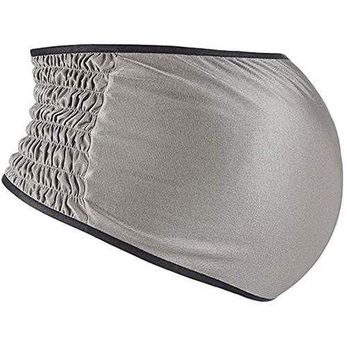 YourBoob Fascia Anti-Radiazioni per La Pancia Tuta Anti-Radiazioni in Fibra d'Argento al 100% Serbatoio di maternità Abbigliamento Schermante EMF,L
