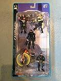 Halo 2 Campaign Series 2 Mini Figure (2x Brute, Marine, Master Chief Spartan, Red Elite) by Halo