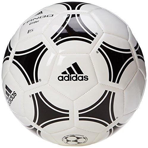 adidas Tango Glider Balón de entrenamiento de fútbol balón, White/Black, 5 ⭐