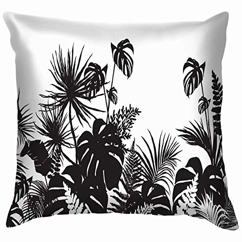 Moily Fayshow Beautiful Line Horizontal Silhouette Pillow Case Throw Pillow Cover Square Cushion Cover 55X55 Cm