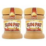 2 x 200 g crujiente mantequilla de maní nueces sándwich veganas para untar tortitas y magdalenas