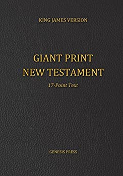 Giant Print New Testament 17-Point Text