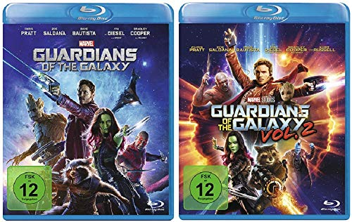Guardians of the Galaxy 1+2 (Teil 1+2,Vol.1+2) [Blu-ray Set]