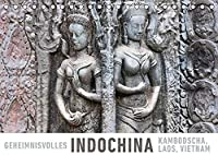 Geheimnisvolles Indochina Kambodscha, Laos, Vietnam (Tischkalender 2022 DIN A5 quer): Eine Fotoreise durch die Vielfalt Vietnams, Laos' und Kambodschas. (Monatskalender, 14 Seiten )