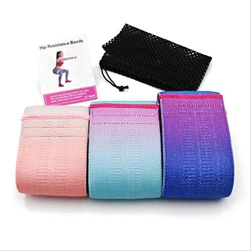 STPillow Resistance Bands - Langlebiges Hüftkreisband Yoga Anti-rutsch-Fitness Fitness Gummi Übungen Geflochtenes Gummiband Hüftheben Wie Gezeigt-A