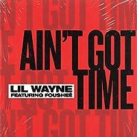 リルウェインミュージックアルバムAi n't Got Time(2021)カバーポスター壁アートキャンバスプリント絵画リビングルーム家の装飾-24x24インチフレームなし(60x60cm)