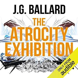 The Atrocity Exhibition audiobook cover art